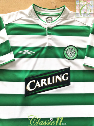 2003/04 Celtic Home Football Shirt (L)