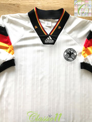 1992/93 Germany Home Football Shirt (M) (L)