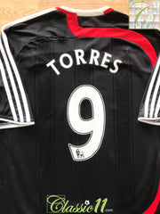 2007/08 Liverpool 3rd Premier League Football Shirt Torres #9 (L)