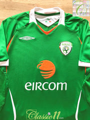 2008/09 Republic of Ireland Home Football Shirt (S)