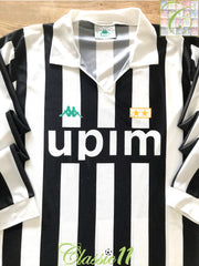 1990/91 Juventus Home Football Shirt (XL)