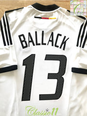 2002/03 Germany Home Football Shirt Ballack #13 (L)