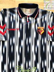 1993/94 Watford Away Football Shirt (XXL)