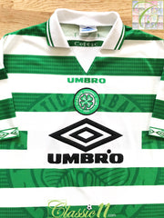 1997/98 Celtic Home Football Shirt (XL)