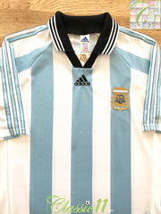 1998/99 Argentina Home Football Shirt (XL)