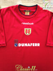 2001/02 Dunaujvaros FC Home Football Shirt (M)