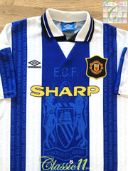 1994/95 Man Utd 3rd Football Shirt (M)