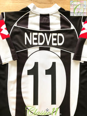 2002/03 Juventus Home Football Shirt Nedved #11 (M)
