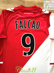 2013/14 Monaco Home Ligue 1 Football Shirt Falcao #9 (S)