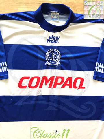 1995/96 QPR Home Football Shirt (L)