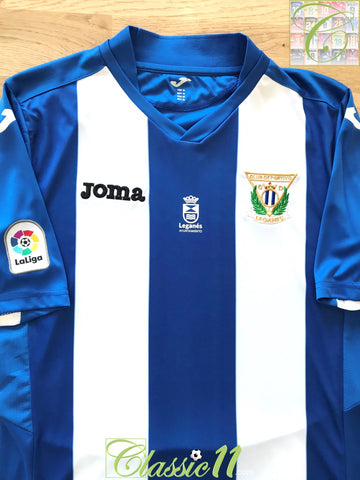2016/17 Leganes Home La Liga Football Shirt *BNWT* (M)