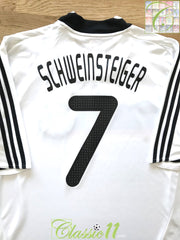2008/09 Germany Home Football Shirt Schweinsteiger #7 (XXL)