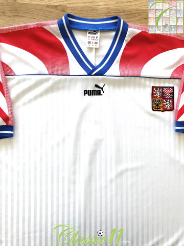 1995/96 Czech Republic Away Football Shirt (XL)