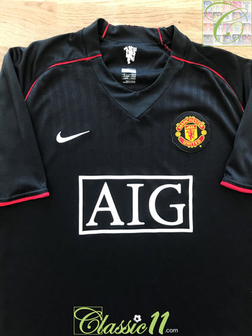 2007/08 Man Utd Away Football Shirt (L)