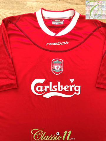 2002/03 Liverpool Home Football Shirt (XXL)