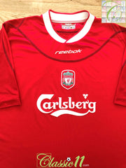 2002/03 Liverpool Home Football Shirt (W) (Size 12)