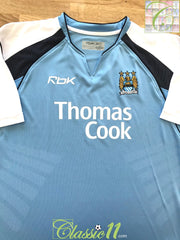 2006/07 Man City Home Football Shirt (M)