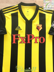 2018/19 Watford Home Football Shirt (L) *BNWT*
