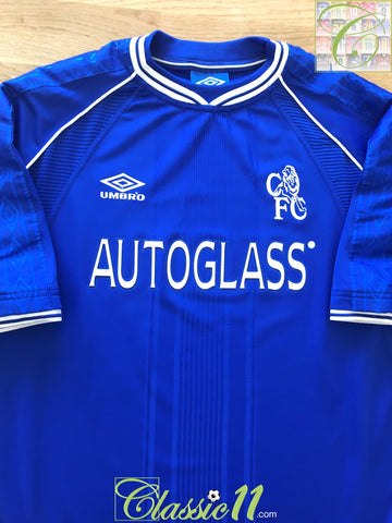 1999/00 Chelsea Home Football Shirt (XL)