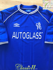 1999/00 Chelsea Home Football Shirt (XXL)