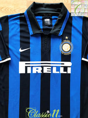 2007/08 Internazionale Home Centenary Football Shirt (XL)