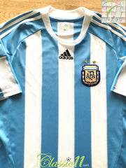 2010/11 Argentina Home Football Shirt (XXL)