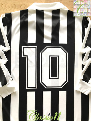 1992/93 Juventus Home Football Shirt #10 (L)