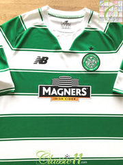 2015/16 Celtic Home Football Shirt (XL)