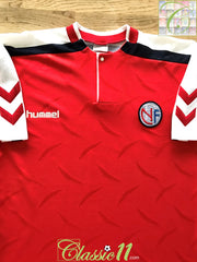 1990/91 Norway Home Football Shirt (XL)