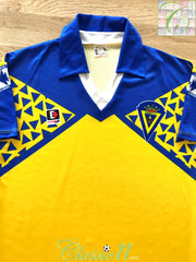 1992/93 Cadiz Home Football Shirt (S)