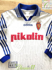 1997/98 Real Zaragoza Home Football Shirt. (S)