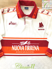 1994/95 Roma Away Football Shirt (L)