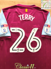 2017/18 Aston Villa Home Championship Football Shirt Terry #26 (L) *BNWT*
