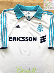 1999/00 Marseille Home Football Shirt (S)