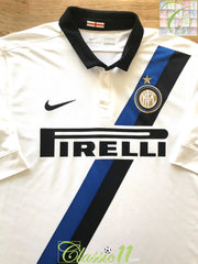 2011/12 Internazionale Away Football Shirt (L)
