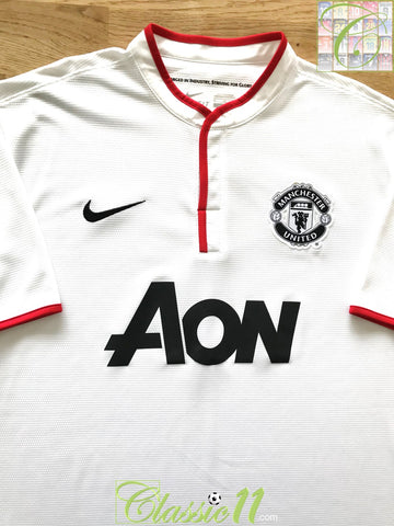 2012/13 Man Utd Away Football Shirt (XL)