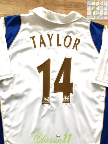 2006/07 Portsmouth Away Premier League Football Shirt Taylor #14 (L)