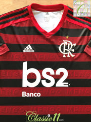 2019 Flamengo Home Football Shirt (S)
