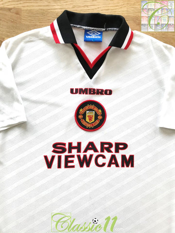 1996/97 Man Utd Away Football Shirt (B)