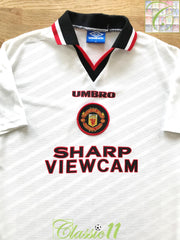 1996/97 Man Utd Away Football Shirt (M)