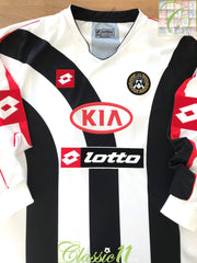 2005/06 Udinese Home Football Shirt. (XXL)