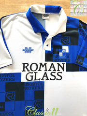 1993/94 Bristol Rovers Home Football Shirt (L)