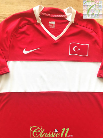 2008/09 Turkey Home Football Shirt (M)