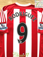 2015/16 Southampton Home Premier League Football Shirt Rodriguez #9 (L)