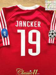 2000/01 Bayern Munich Home Champions League Football Shirt Jancker #19 (L)