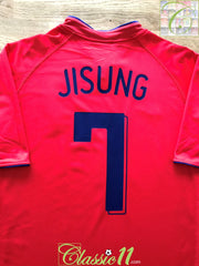 2006/07 South Korea Home Football Shirt Ji-Sung #7 (XL)