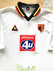 1999/00 Watford Away Football Shirt (XXL)
