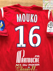 2010/11 Lille Home Ligue 1 Player Issue Football Shirt Mouko #16 (M)