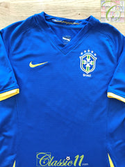 2008/09 Brazil Away Football Shirt (B)