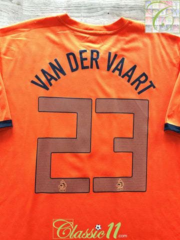 2012/13 Netherlands Home Football Shirt Van Der Vaart #23 (XL)